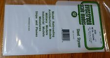 "Evergreen Styrene #4530 Metal Siding Sheet -- .125"" .32cm Spacing"