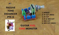 TONE MONSTER PTE-G Passive Tone Enhancer Guitar Varitone Bypass + 5 Filters