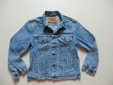 Levi's Biker Jacke, Jeansjacke Gr. S, blue ! 70503 Trucker Denim mit 6 Taschen !
