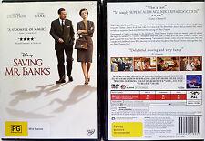 Saving Mr. Banks DVD 2014 - PAL R4 oz seller Walt Disney TOM HANKS emma thompson