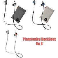 Plantronics BackBeat Go 3 Wireless Neckband Bluetooth Headphones + Charge Case