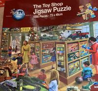 PUZZLE WORLD JIGSAW 1000 PCS THE TOY SHOP COMPLETE