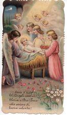 376 Gesù Bambino vecchio  santino holycard