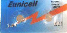 EUNICELL - 2 Piles bouton AG1 LR621 164 364 531