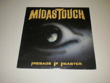 MIDAS TOUCH - PRESAGE OF DISASTER - LP 1989 NOISE INTERNATIONAL MADE IN U.S.A.