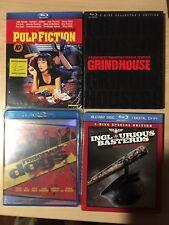 Quentin Tarantino Bluray Lot Pulp Fiction, Reservoir Dogs & More
