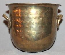 ANTIQUE ART DECO BRASS BOWL CUP