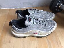 Nike AirMax 97 Silver Sneaker / Sneaks Size US 9,5/ UK 8,5 / EU 43 Used !