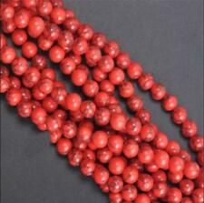 Natural Gemstone Round Spacer Loose Beads 4MM 10PC 001