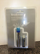 """Brookstone """"Quick Charge"""" Instant Cell Phone Charger"""