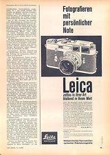LEICA-LEITZ - 1963-ii - publicité-publicité-genuineadvertising-NL - Correspondance