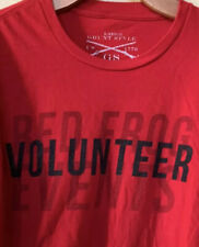 Grunt Style RED Frog Events Volunteer T Shirt This We'll Defend Men's Size Large
