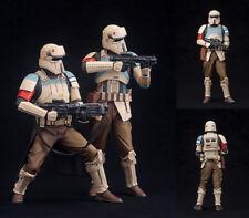 Star Wars - Rogue One - Shoretrooper 2 Pack Squad Leader & Captain ARTFX+ Statue