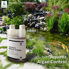 Aquatic Barley Straw Extract 500mL - Algae Control in ponds.