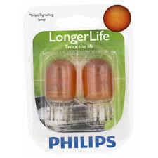 Philips Long Life Mini Amber Light Bulb 7444NALLB2 for 7444 7444NALL T-6 dx