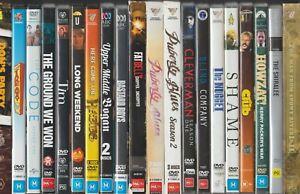 Australian Movie Film DVD CHOOSE YOURS - Drama Comedy TV Mini Series War Crime +