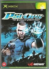 Psi-ops The Mindgate Conspiracy Microsoft Xbox 18 Action Game