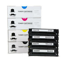 Moustache® 125A CB540A CB541A CB542A CB543A Toner Cartridge BK/C/M/Y For HP