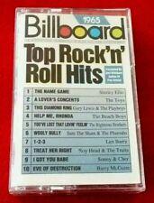 *Cassette Audio Album Billboard 1965 Top Rock'n'Roll Hits -