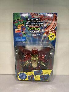 TMNT Metal Mutants Raphael Phoenix Spirit Armor 1995 Playmates Moc Sealed New