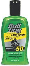 5 Pack BullFrog Land Sport Quik Gel Sunscreen Spf 50 5.0 Oz Each