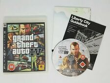 Grand Theft Auto 4 GTA 4 - Playstation 3 PS3 VGC COMPLETE  FAST FREE POST