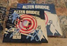 ALTER BRIDGE Last Hero Autographed /Signed CD  creed myles kennedy slash
