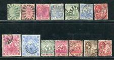 D059908 Barbados Nice selection of VFU Used stamps