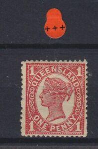 Australia Queensland QV SG 288 Cat £3.00 toned Mounted Mint