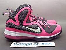 Girls' Nike LeBron IX 9 Laser Pink GS sz 6.5Y