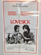 "MOVIE POSTER ""Lovesick"" (1983) Dudley Moore Elizabeth McGovern (27x41)"
