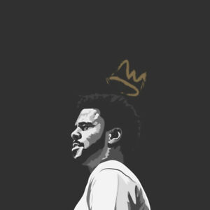 Reprint For Album of the Year J.Cole Music Art Fabric Poster Wall Decor HD Print