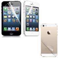 2x 3x 4x 5x LCD Clear Front Back Screen Film Protector Guard For iPhone 4 Lot
