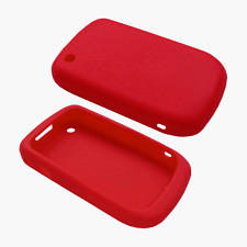 Silicone Skin Case for Blackberry Curve 8520 - Red