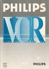 PHILIPS - VR 211 - Bedienungsanleitung für video rekorder - B8058