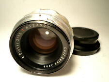 M42 CARL ZEISS JENA BIOTAR 1Q Red T 2/58 TOP Condition VINTAGE LENS 1:2.0 f=58mm