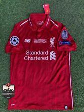 Maglia Liverpool Finale Champions League 2019 - Calcio Salah Mane Jersey