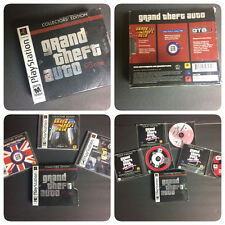 Grand Theft  Auto Collectors Edition COMPLETE Set, PSone PS1 GOOD CONDITION