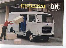 N°6093 / camion OM bestelwagens dépliant nederland text