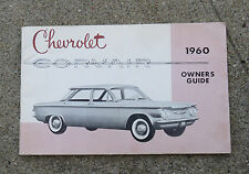 Original 1960 Chevrolet Corvair  Owners Guide  Manual First Edition