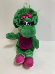 "Vintage 1992 The Lyons Group Barney & Friends Baby Bop 13"" hand puppet Read Desc"