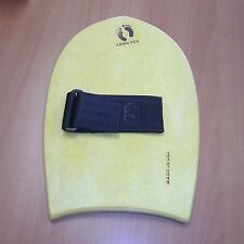 New Quick Ship Yellow Hang Ten Wood Surfing Hand Plane Board