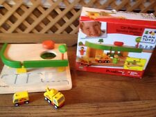 Plan Toys - Plan City Car Repair + Service Station  Set 60092 RARE*--more Listed
