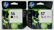 HP 56+57 ORIGINALE NERO+COLORE PSC 1210/1217/1315 DESKJET F4120/5550/5650/F4120