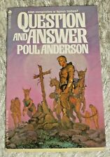 Poul Anderson, QUESTION AND ANSWER, Vintage 1978 Science Fiction Paperback