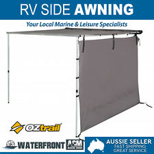 OZtrail Awning RV Shade Side Wall Suits 2.5/3m Protection 4x4 Marquee Accessory