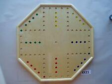 WAHOO WA HOO BOARD GAME 20 X 20 in. Double sided 4 & 6 player. KK21