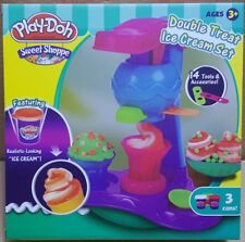 Ice Cream Play-doh Toy Set Kids Arts Crafts Soft Clay Plasticine Educational