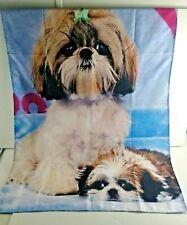 Minioze Shih Tzu Dogs Puppies Curtain / Garden Banner 36 x 27 Indoor Outdoor