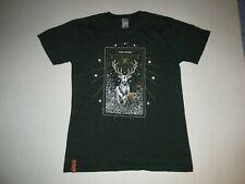 Jagermeister The Stag T Shirt Sz M German Spiced Liquor Bar Bombs Deer New